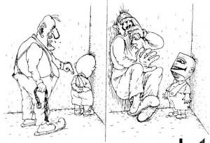Карикатура о наказаниях