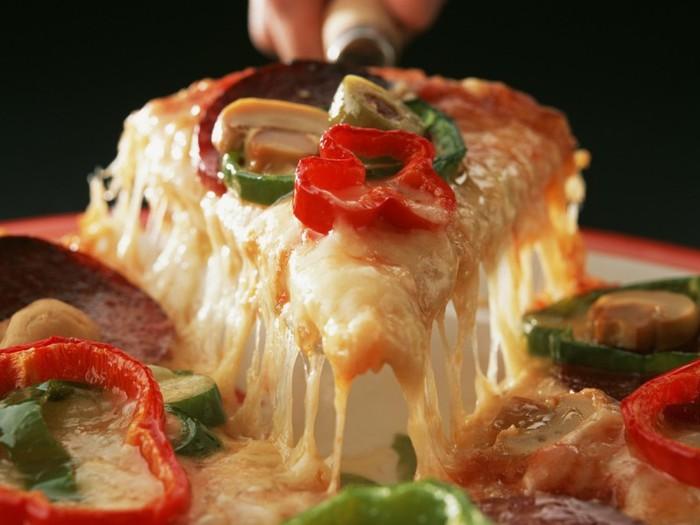 Полезную пиццу не отличишь от вредной
