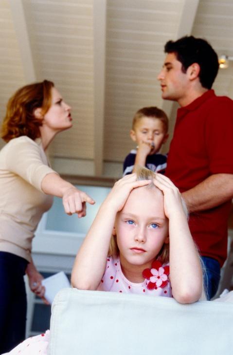 Конфликты в семье и здоровье ребенка