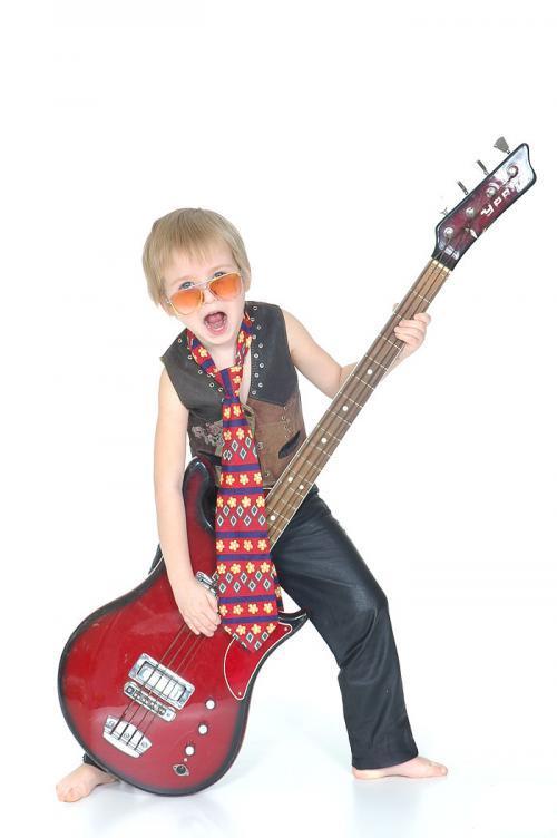 Ребенок-рокер