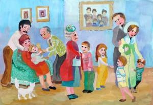 Картина родственники