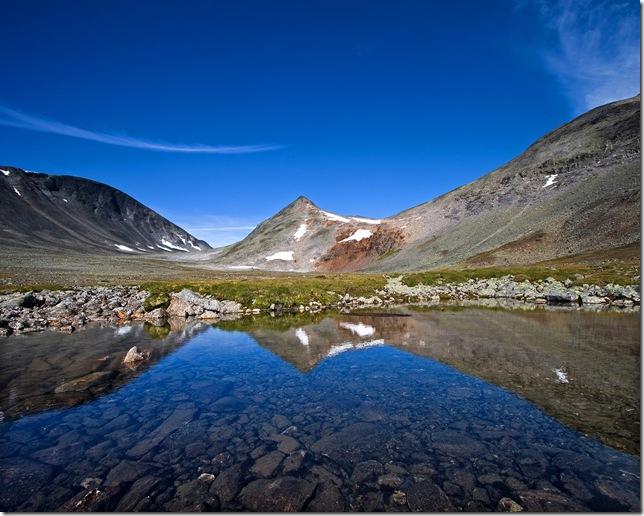 Горы Швеции