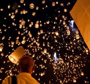 Небесные фонарики — классный подарок для родных и друзей!