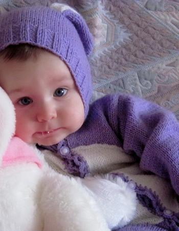 Вязаные вещи для новорожденного