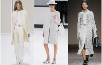 Белые пальто - вещь, которая создает романтику