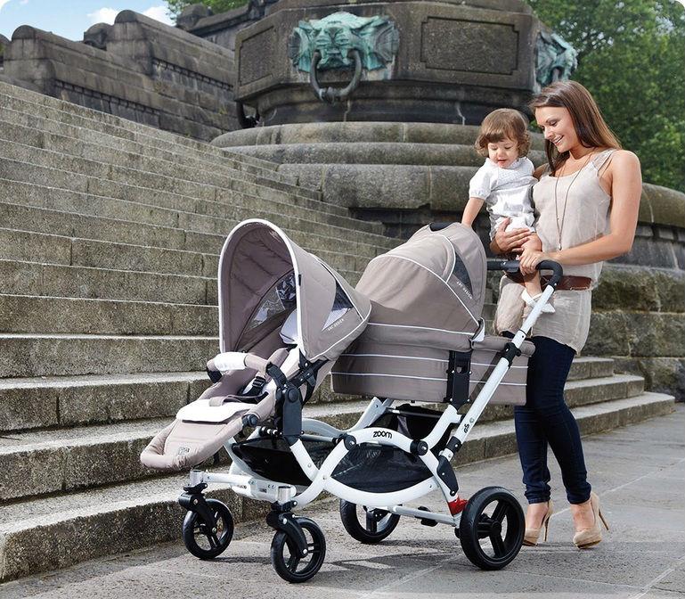 Коляски для новорожденных для двоих